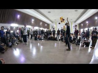 SwipeMind (Mind Escape) vs Vakurov(Apache crew) Hip-Hop pro semi final Cypher Killa