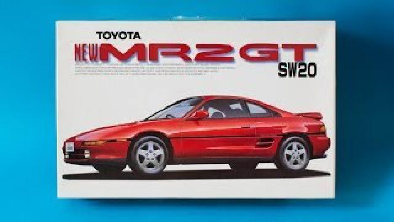 Fujimi 1 24 Toyota MR2 GT SW20