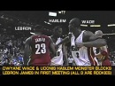 Dwyane Wade And Udonis Haslem Monster Blocks 18-Year-Old LeBron James