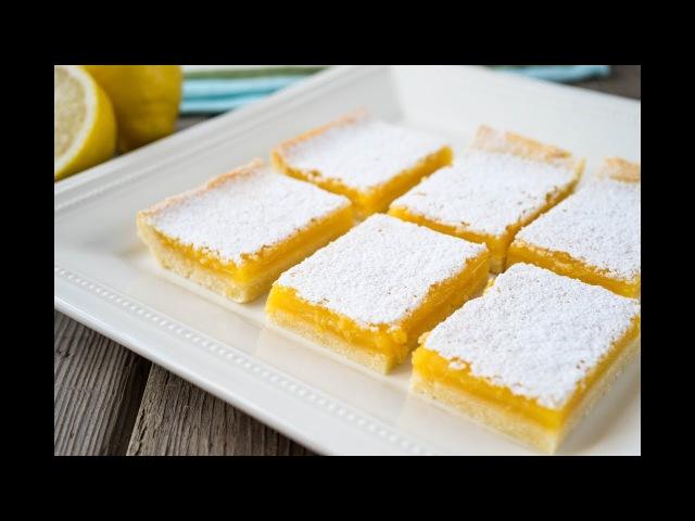 Лимонные Квадратики   Lemon Squares/Bars   Tanya Shpilko