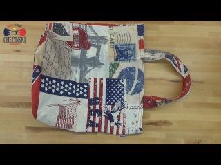 Jak uszyć Torbę na zakupy - krok po kroku. How to sew shopping bag