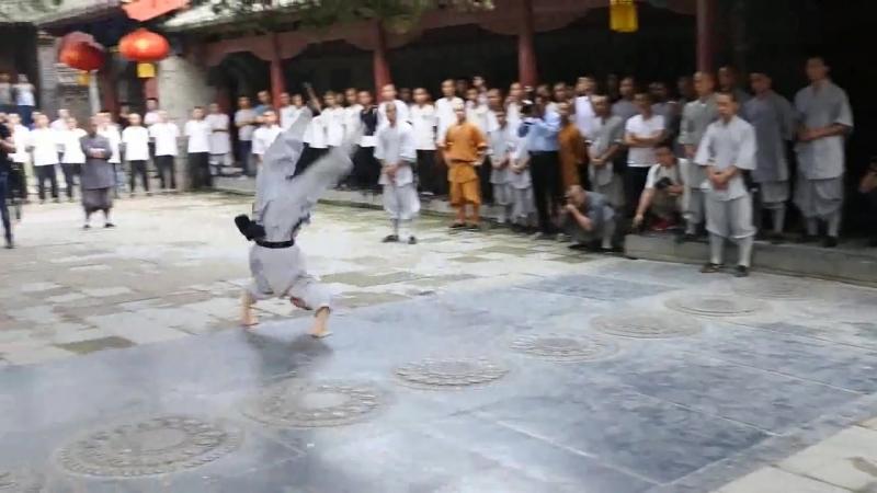 Настоящее кунг-фу в исполнении монахов Шаолинь