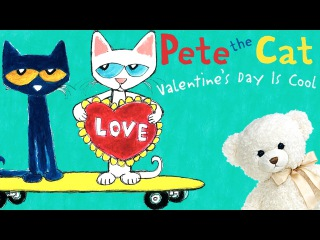 Pete the Cat Valentine's Day is Cool - by Kimberly James Dean Storytime With Ms. Becky