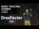 How to do a Body Tracing Hybrid for Poi: 1-minute tutorial