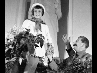 Спасибо дорогому товарищу Сталину за наше счастливое детство!