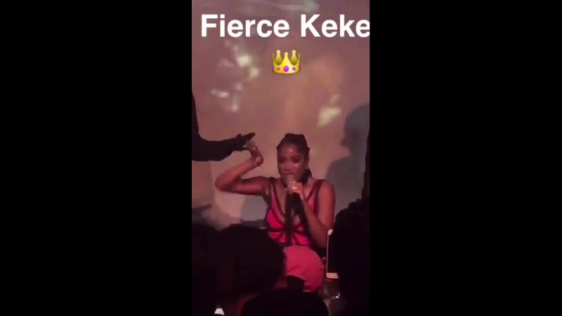 @peopleschoice Wanna see more of the fierce @KekePalmer Check out our snaps from her 🔥 NYC concert @peopleschoice