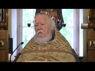 Протоиерей Димитрий Смирнов. Проповедь  о бесновании