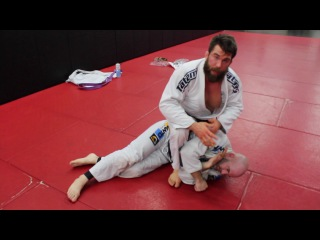 Simple Bjj Mount Choke for Submission Setups or Risky Guard Break