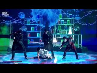 Необычный танец на шоу талантов