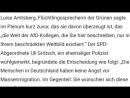 AFD im Bundestag forderte UMFASSENDE GRENZKONTROLLEN aber was dann passierte wir dich UMHAUEN