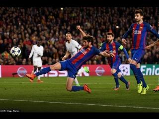 Барселона 6-1 ПСЖ. Последние 10 минут матча