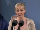 J K Rowling Speaks at Harvard Commencement