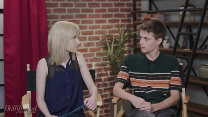 Corey Fogelmanis Discusses New Show Prank Me and Being Outspoken Online In Studio Hollywood Reporter 2