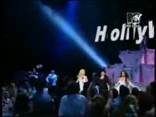 Britney Spears, Madonna, Christina Aguilera & Missy Elliot - Like A Virgin, Hollywood...поцелуй Бритни Спирз и Мадонны