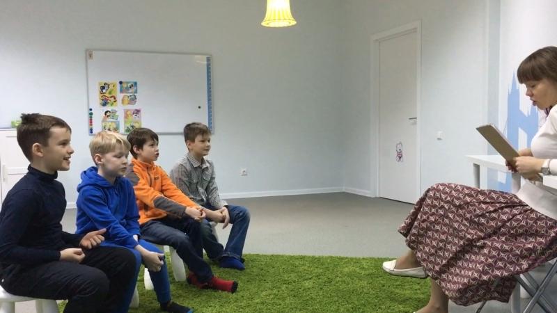 Методика I Love English, курс I Can Read, урок 4-3 часть 1 г.Новосибирск, школа LESKids