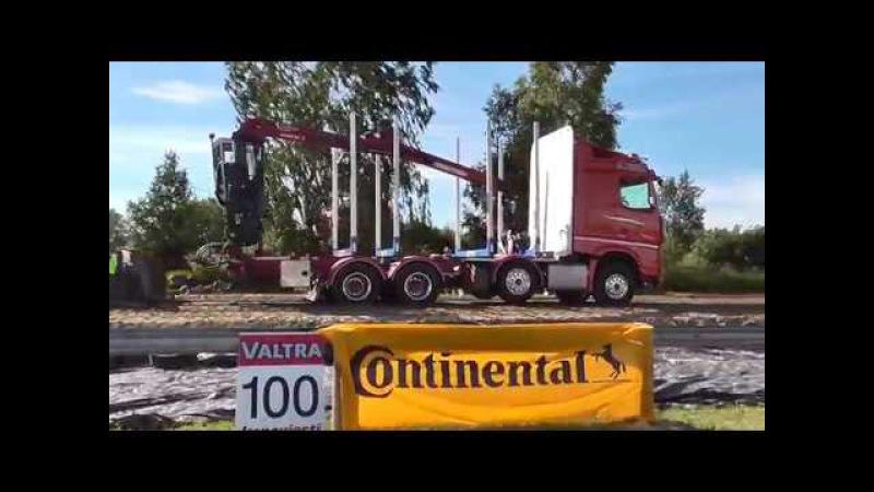Truck Pulling SM-Karsintakilpailu Power Truck Show Alahärmä 11.8.2017