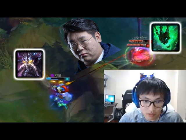 TusiN 1000 IQ Thresh on LCK Amazing Doublelift Escape Best Of LoL Streamer Moments 33