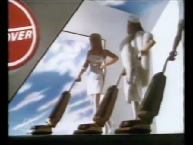 Hoover High Power Compact Vacuum Cleaner TV Commercial 1980's