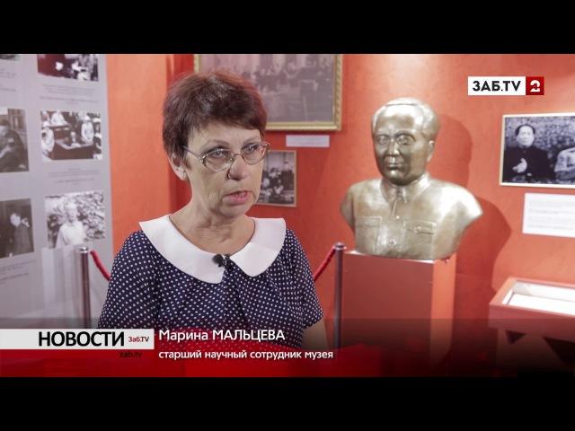 500-килограммовый бюст Ленина с трудом занесли в выставочный зал