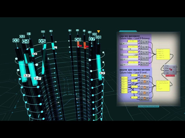 English Narration Series:A digital design work record of a high rise building project