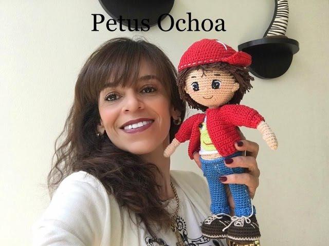 Que material ocupo para tejer muñeco Mauricio amigurumi By Petus
