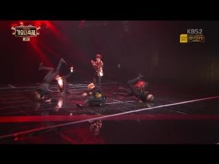 `PERF` 161229 Bangtan - Blood Sweat & Tears + Fire @ KBS Gayo Daechukje.