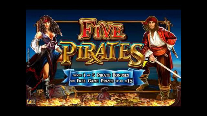 Five Pirates All aboard for a swashbuckling adventure