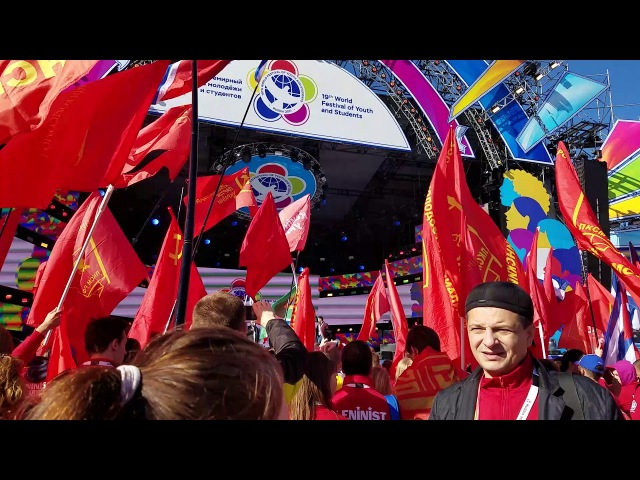 October Revolution 2017 Commemoration in Sochi Russia WFYS 2017
