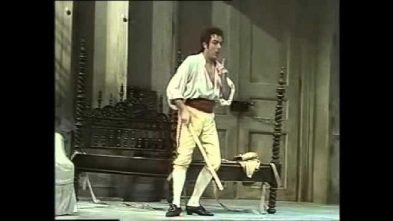 Ferruccio Furlanetto Bravo signor padrone Se vuol ballare Le nozze di Figaro