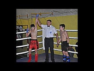 Максим Решетняк| 44 кг | ФИНАЛ : ЛОУ-КИК | Чемпионат г.  Константиновки | 2017 г. |