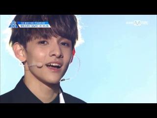 170428 PRODUCE 101 season2 BTS - Boy In Luv [TEAM 1]