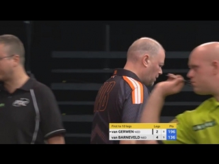 Michael van Gerwen vs Raymond van Barneveld (Champions League of Darts 2017 - Group A)