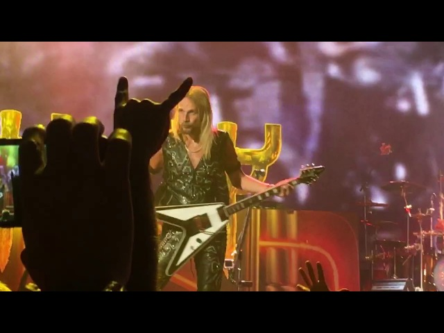 """HD Judas Priest Hell Bent for Leather"""" 3 17 18 NYCB Live at Nassau Coliseum"""