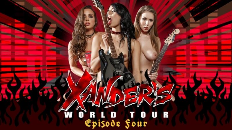 Abigail Mac Gina Valentina Lena Paul Xanders World Tour Ep.
