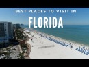 10 Best Places to Visit in Florida Travel Video