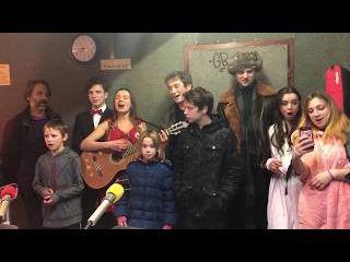 Oj Moroz Leila Sunshine Family on Radio Z Russia Folk Song