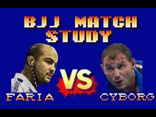"BJJ Match Study: Bernardo Faria vs Roberto ""Cyborg"" Abreu"