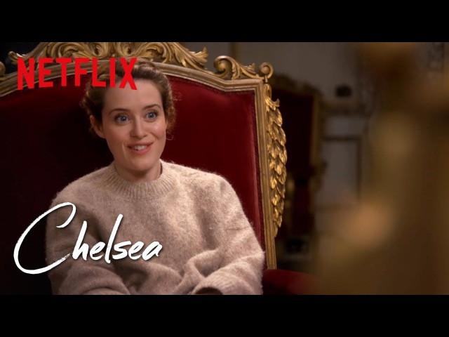 The Crown's Claire Foy Full Interview Chelsea Netflix