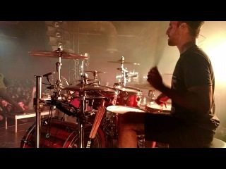 Matt Greiner FULL SET Drum Cam - August Burns Red - Phantom Anthem Tour 1-23-18 1/4