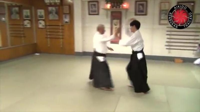 AIKIDO Fukakusa Shihan Yokomenuchi Iriminage three versions mp4