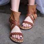 Artmu сандалии с высоким голенищем