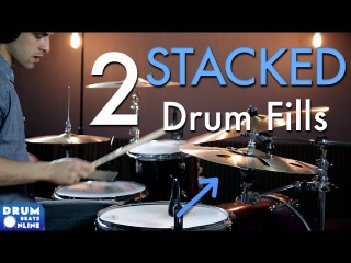 2 Stacked Drum Fills - Drum Lesson | Drum Beats Online