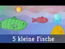 Fünf kleine Fische - Lichterkinder | Kinderlieder | Spiel- Bewegungslieder