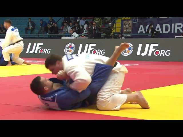 Grand-Prix Agadir 2018 KRIVOBOKOV Anton (Russia) - DRAGIC Vito (Slovenia)