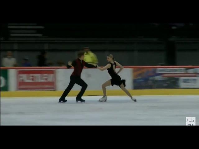 19 Anastasia SKOPTCOVA Kirill ALESHIN RUS 2017 TA⅃⅃INN TROPHY JUNIOR Ice Dance FD