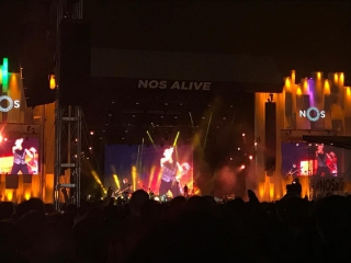 Depeche mode global spirit tour lisbon (portugal) - nos alive festival 08.07.2017