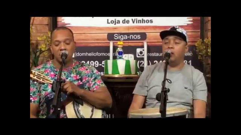 MOLEJO LIVE 20 11 2017 HOMENAGEM AO SAMBA DE RAIZ 'VÍDEO HD