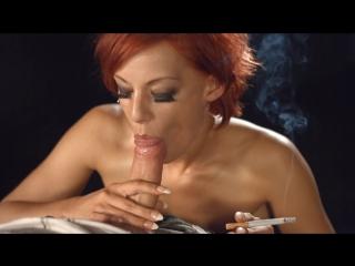 Smoking (amateur pov blowjob cumshot handjob boobs busty sex porn oral smoke orgasm sperm fetish минет оргазм)