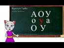 🎓 Урок 1. Учим буквы А О У вместе с кошечкой Алисой (0 )