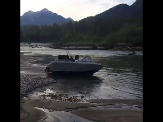 Homemade Jet Boat Test